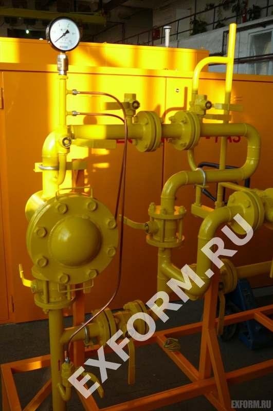 ГРПШ с регуляторами рднк-400 технические характеристики