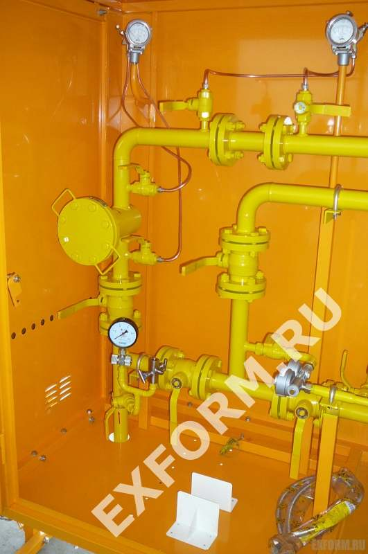 Установка газорегуляторная шкафная УГРШ(К)-50Н-ЭК