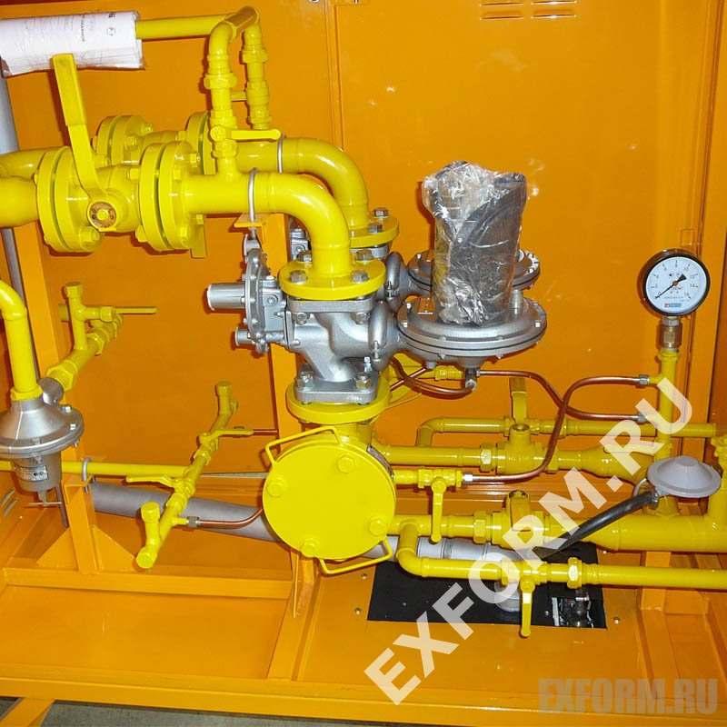 Газорегуляторный пункт шкафной ГРПШ-400
