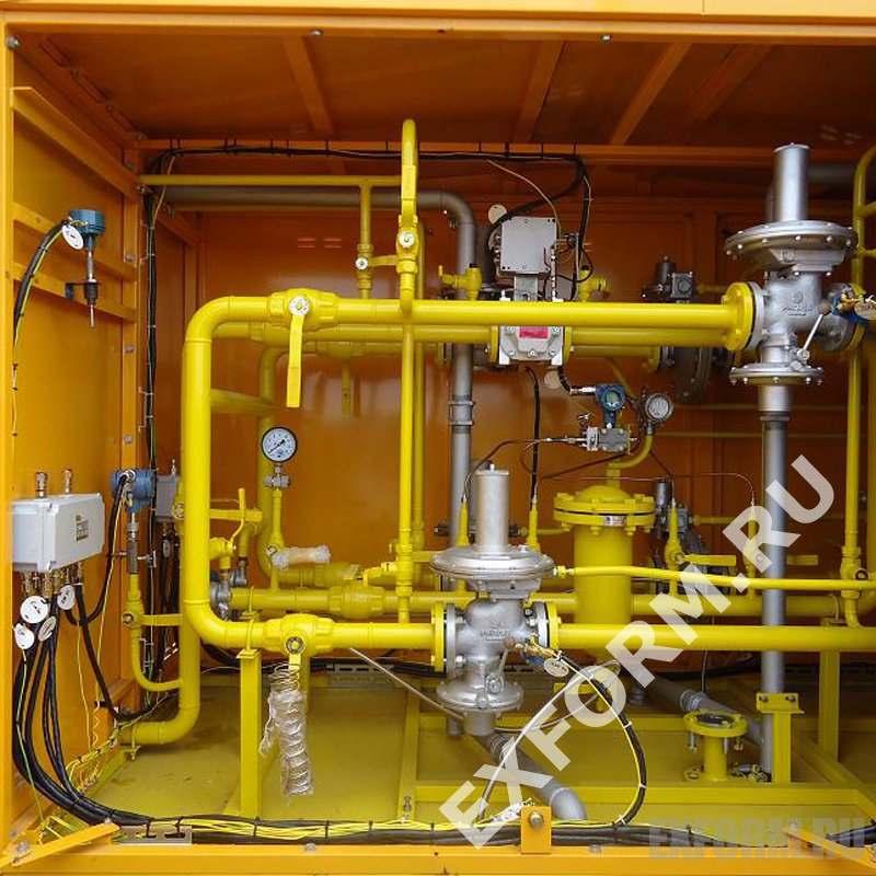 Установка газорегуляторная шкафная УГРШ-50-2С