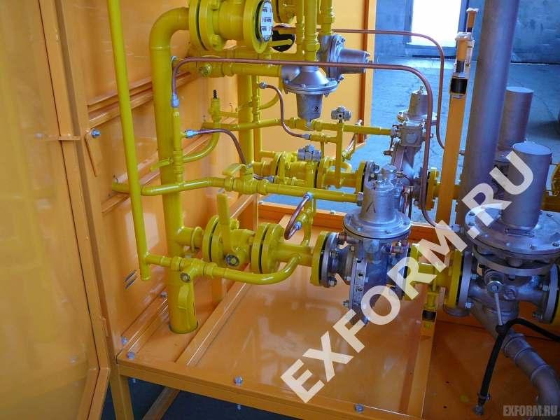 регулятора давления газа или редуктора