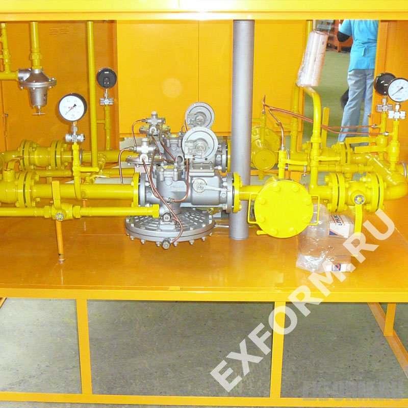 Комплектующие материалы для ГРПШ-13-2НУ1