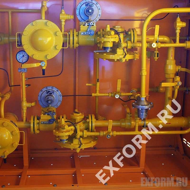 Газорегуляторный пункт блочный ГРПБ-13-1В-У1