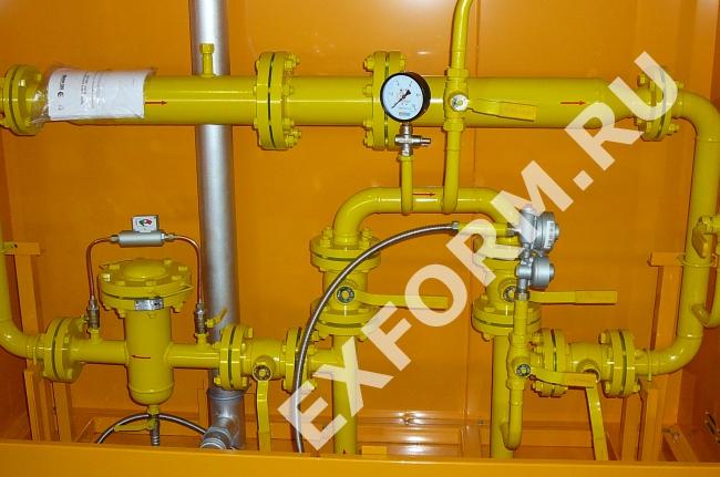 Пункты учета расхода газа ПУРГ-200