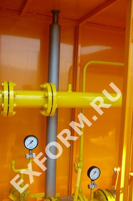 Пункты учета расхода газа ПУРГ-800(-ЭК)