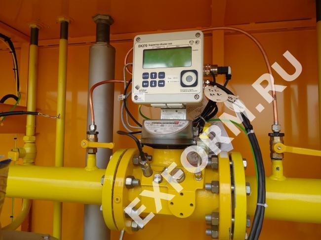 Пункт учета газа ПУГ-Ш-10-ДТК