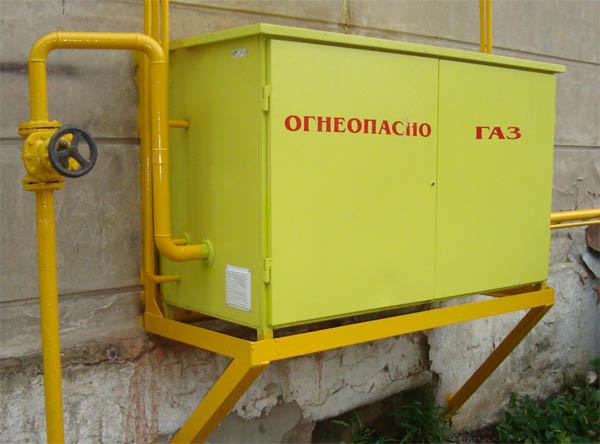 Газорегуляторные пункты шкафные низкого давления ГРПШН
