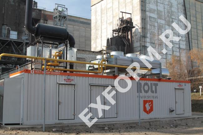 Газопоршневые и дизельные электростанции ROLT