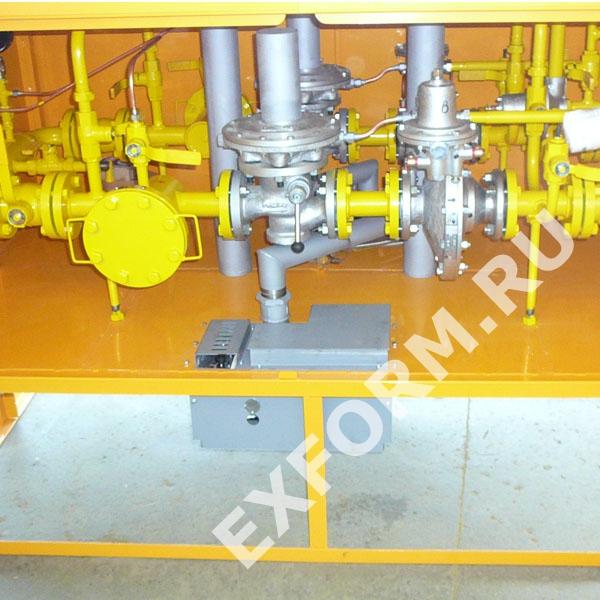 Установка газорегуляторная шкафная УГРШ(К)-50Н-2-О, УГРШ(К)-50Н-2
